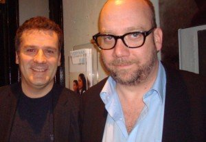 Brian with Paul Giamatti