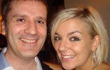 Brian with Sheridan Smith