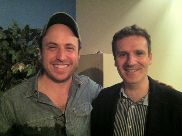 Brian With David Rapaport