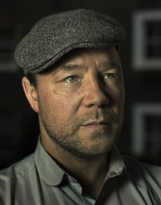 Award winning actor, Stephen Graham (This is England, Boardwalk Empire)