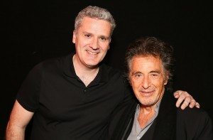 Al Pacino with Brian Timoney