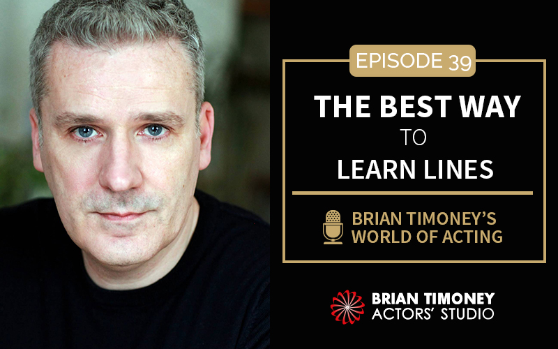 Episode 39: The best way to learn lines