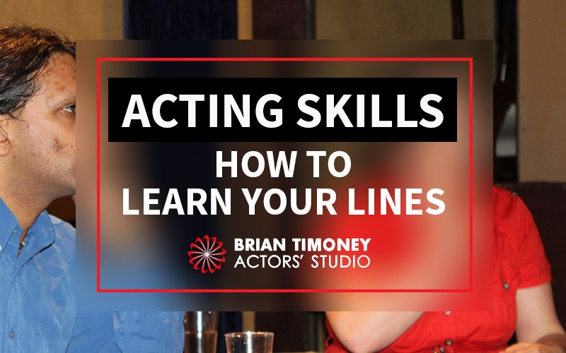 learn your lines