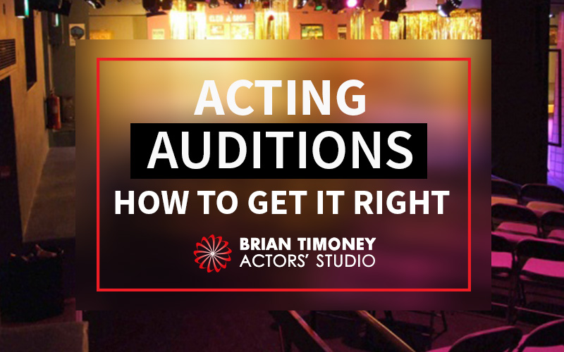 acting auditions advice
