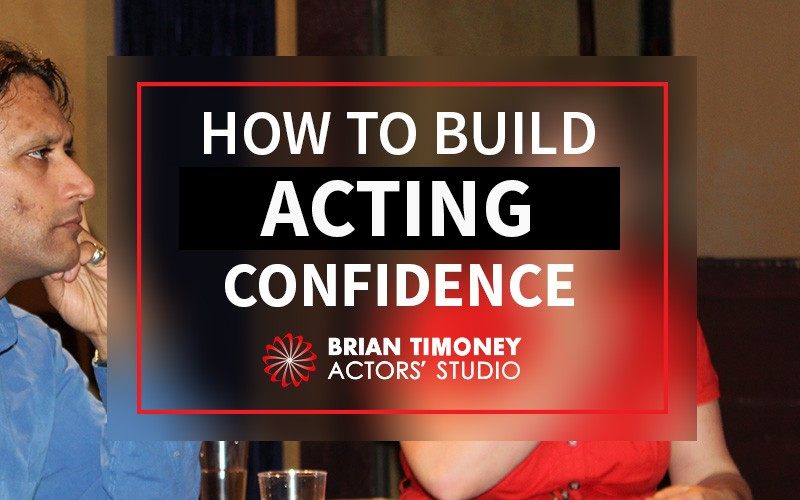 Build acting confidence