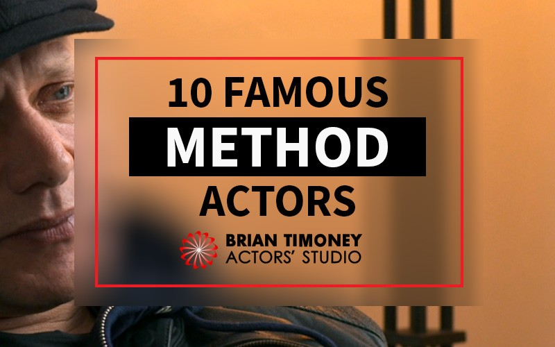 10 Famous Method Actors