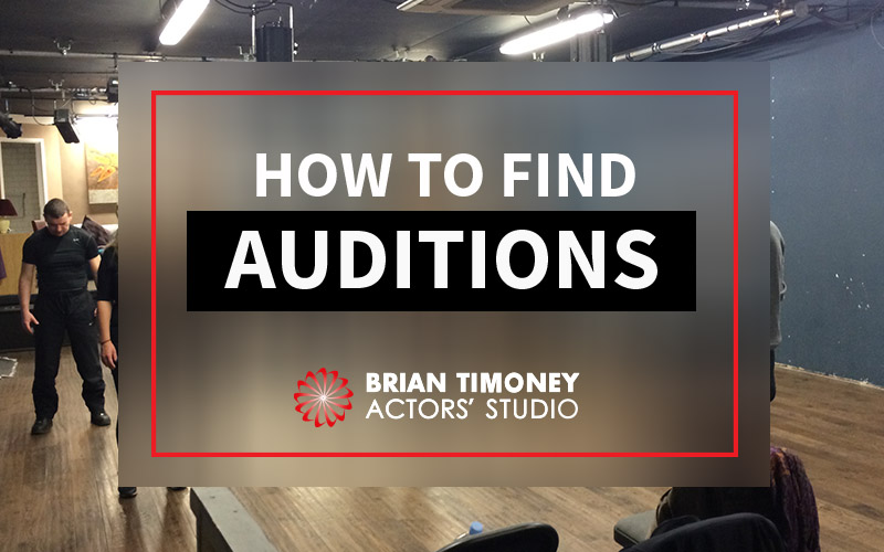 finding auditions
