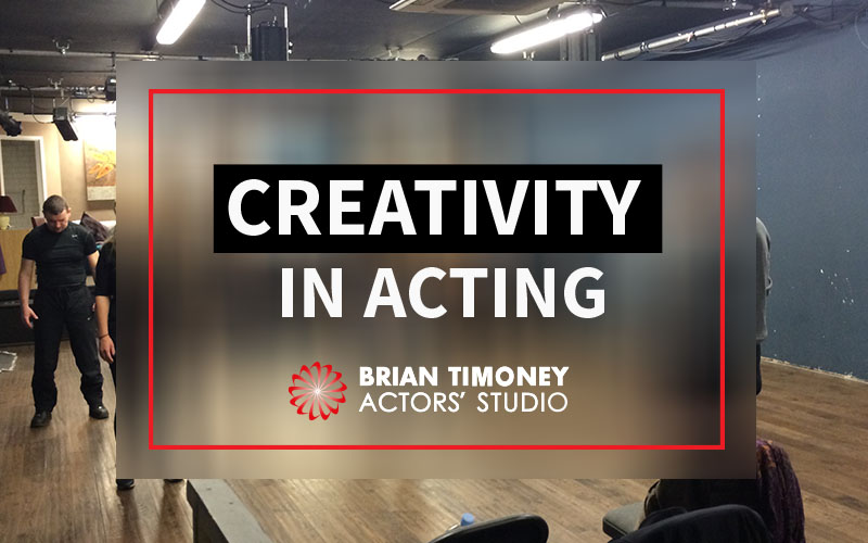 creativity in acting