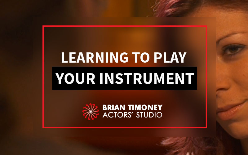 Acting as an instrument