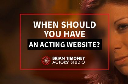 acting website