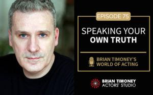 Episode 75: Speaking your own truth