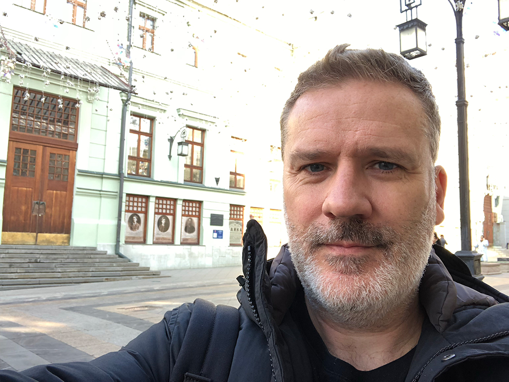 Brian at The Moscow Arts Theatre where The Method began